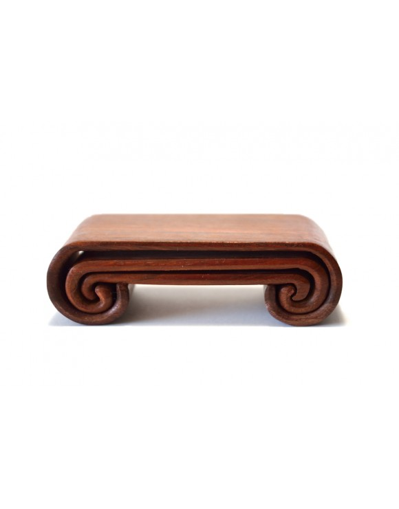 Set of three natural wooden rests for ink bars