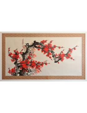 Chinese plum flowers (I)