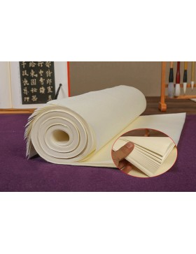 Semicooked Xuan paper