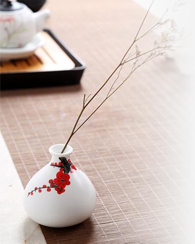 Artesanía florero detalle