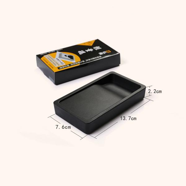Mini rectangular inkstone made in Japan 01