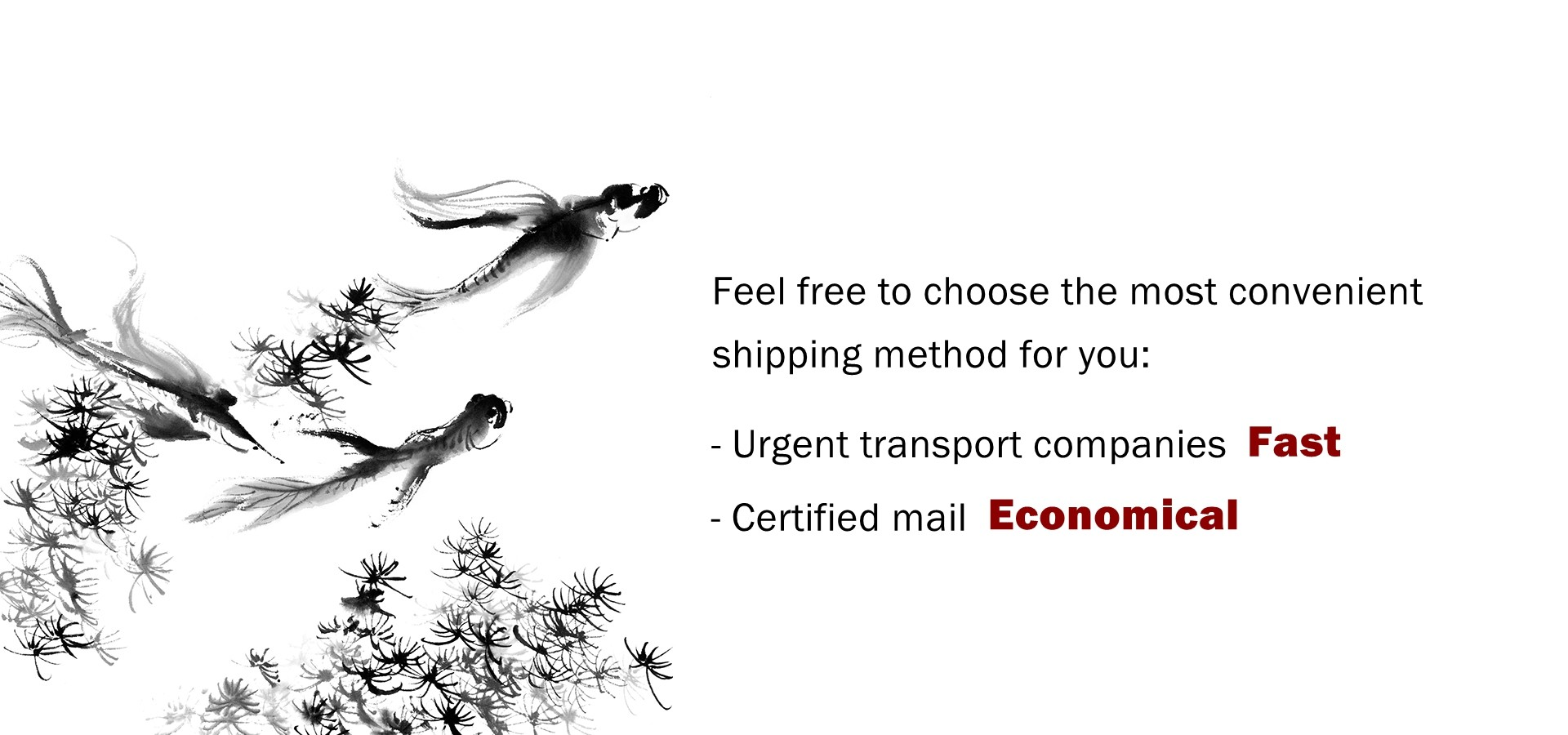 More information about international shipping cost