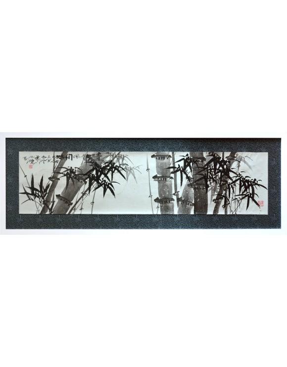 Sonidos y brisas en el bosque de bambú