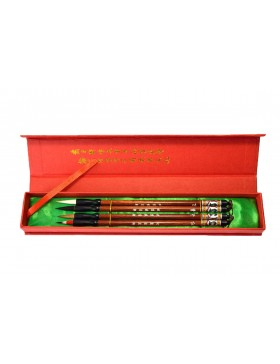Explosion of colours: Pack of four fine brushes