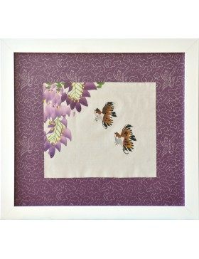 Wisteria and birds (small)