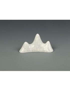 Apoyador de pinceles en forma de montaña del estilo cerámica Ge