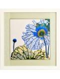 Las hojas azules del loto