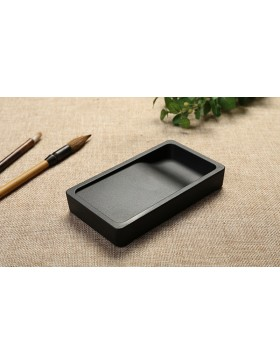 Mini rectangular inkstone made in Japan