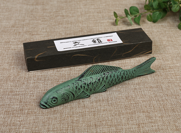 Oriental Koi carp paperweights 02