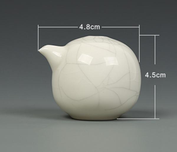 Dosificador de agua tradicional del estilo cerámica Ge para tintero 01