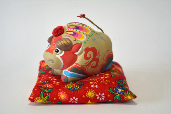 Blessings of the twelve Chinese horoscopes: artisanal clay miniatures 02