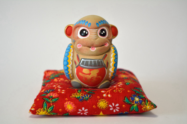 Blessings of the twelve Chinese horoscopes: artisanal clay miniatures 09
