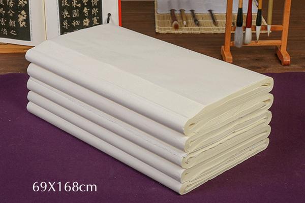 Semicooked Xuan paper 01