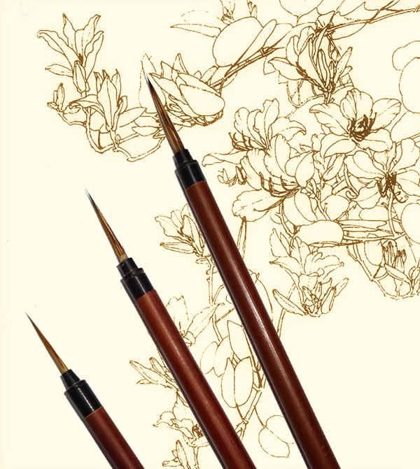 The deftness of the hare: brushes for painting fine detail 03